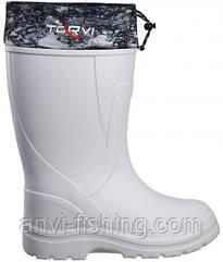 Зимние сапоги для охоты и рыбалки TORVI -45°C - Белые Размер 42