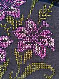 Текстильная сумочка с вышивкой  Шопер 37, фото 2