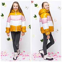 Куртка весенняя демисезонная для девочки «вкд13» (134-164р), фото 1