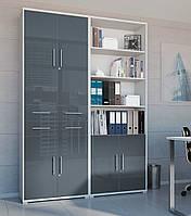 Книжный шкаф Office Lux S363-REG4D2S/220-JSZ/GF (BRW)