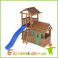 Деревянный спортивно-игровой комплекс Лидер 2
