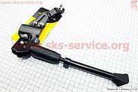 """Велоподножка боковая задняя телескопическая для 24""""- 29"""", с изменяемым углом крепления, алюминиевая SKF-96A"""