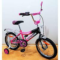 """Велосипед EXPLORER 16"""" Т-21617 crimson+black"""