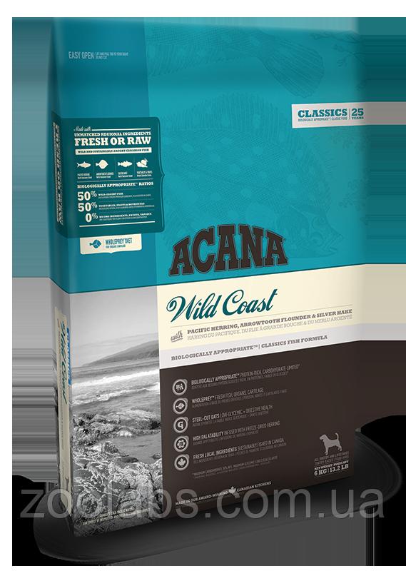 Корм Acana для собак и щенков с рыбой | Acana Wild Coast 17,0 кг