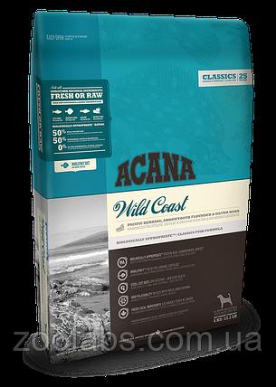 Корм Acana для собак и щенков с рыбой | Acana Wild Coast 17,0 кг, фото 2