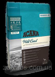 Корм Acana для собак и щенков с рыбой | Acana Wild Coast 2,0 кг