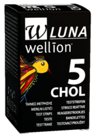 Тест-полоски Wellion Luna №5 холестерин