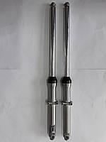 Перья вилки Alpha (гидравлические, шток Ø27mm) QIMA