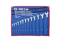Набор ключей (08-24ММ) 13 предметов. ULTRA-LIGHT LONG King Tony 12A3MRN, фото 1