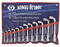 Набор ключей Г-образный 12 шт. 8-24 мм King Tony 1812MR, фото 1