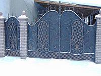 Кованые ворота В-72, фото 1
