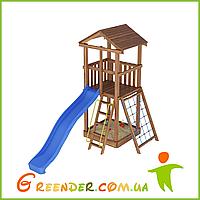 Деревянный детский игровой комплекс Лидер 8