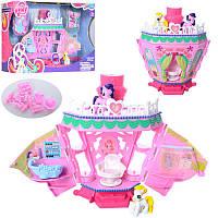 Игровой набор Замок Домик Литл Пони (my Litle Pony)музыка, фигурки пони, мебель, аксессуары, 768
