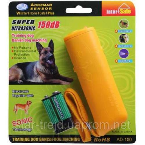 Ультразвуковой отпугиватель собак AD-100 ОПТ