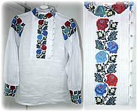 Блуза стильная вышитая