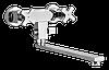 Смеситель Welle ''Werner' для ванны и душа 37102X2-T-23