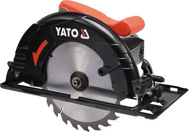 Ручная дисковая пила по дереву 1300W YATO YT-82150
