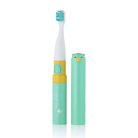 Go-Kidz  Brush-baby електрична зубна щітка дітям (м'ятна), фото 2