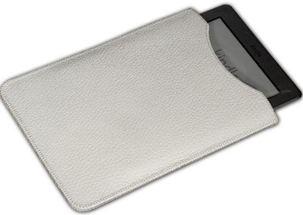 Чехол для Pocket Book A7 кожа фактурная White (151005)