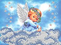 Княгиня Ольга Схема для вышивки бисером Ангелочок на хмаринці СД-017