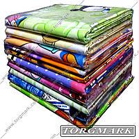 Детский комплект постельного белья 110х140 100% хлопок (сатин) в ассортименте.