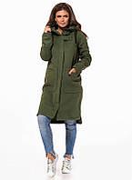 Женское пальто в стиле кэжуал 42,44,46,48,50,52,54