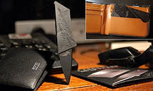 Нож-кредитка Cardsharp, Кардшап, Sinclair, кредитная карточка
