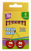 """Мел цветной восковой """"Fresh Ideas"""" 8 штук Cool for school"""