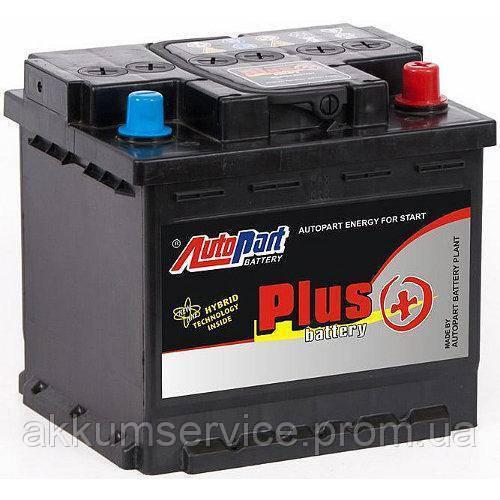 Аккумулятор автомобильный Autopart Plus 55AH R+ 480А