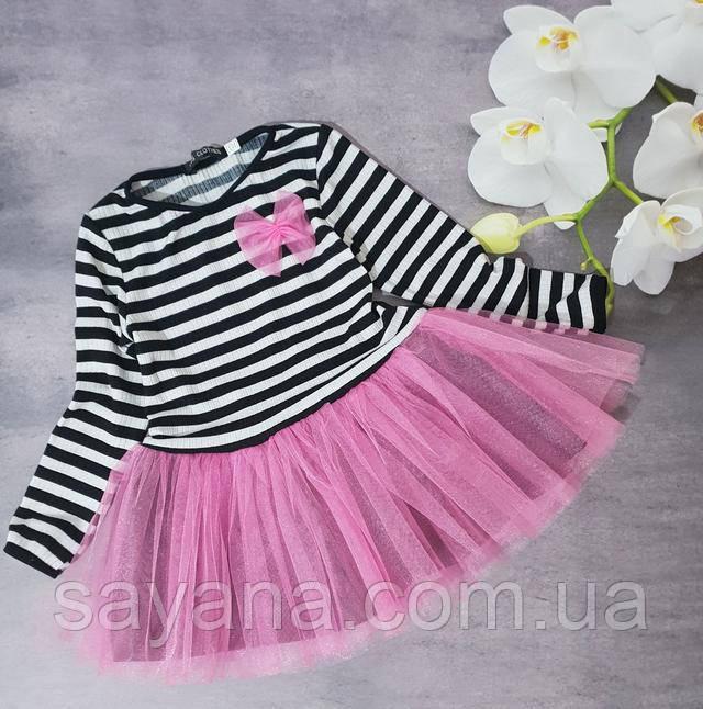 платье детское с декором опт