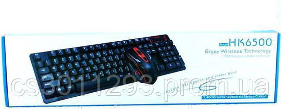 Клавиатура Беспроводная и Мышь комплект, фото 3
