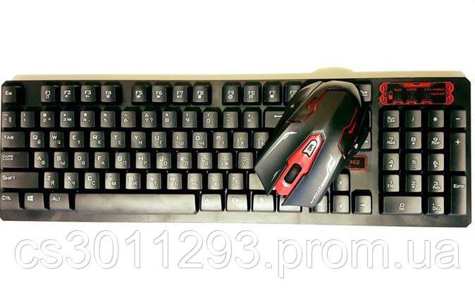 Клавиатура Беспроводная и Мышь комплект, фото 2