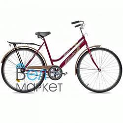 """Велосипед Totem Comfort 28"""" Дамський / Міський / Гібрид (Малиновий)"""