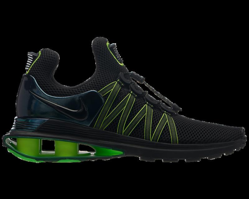 1dda69e5 Кроссовки/Кеды (Оригинал) Nike Shox Gravity Black/Black/Gorge Green ...