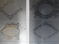 Стекло с рисунком для межкомнатных дверей