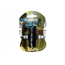 КОЛОДКИ BARADINE 947V V-BRAKE / вибрейк / мтб / шестигранні / різьбові