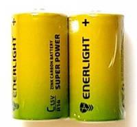 Батарейка ENERLIGHT SUPER Power C/R14 (2шт)