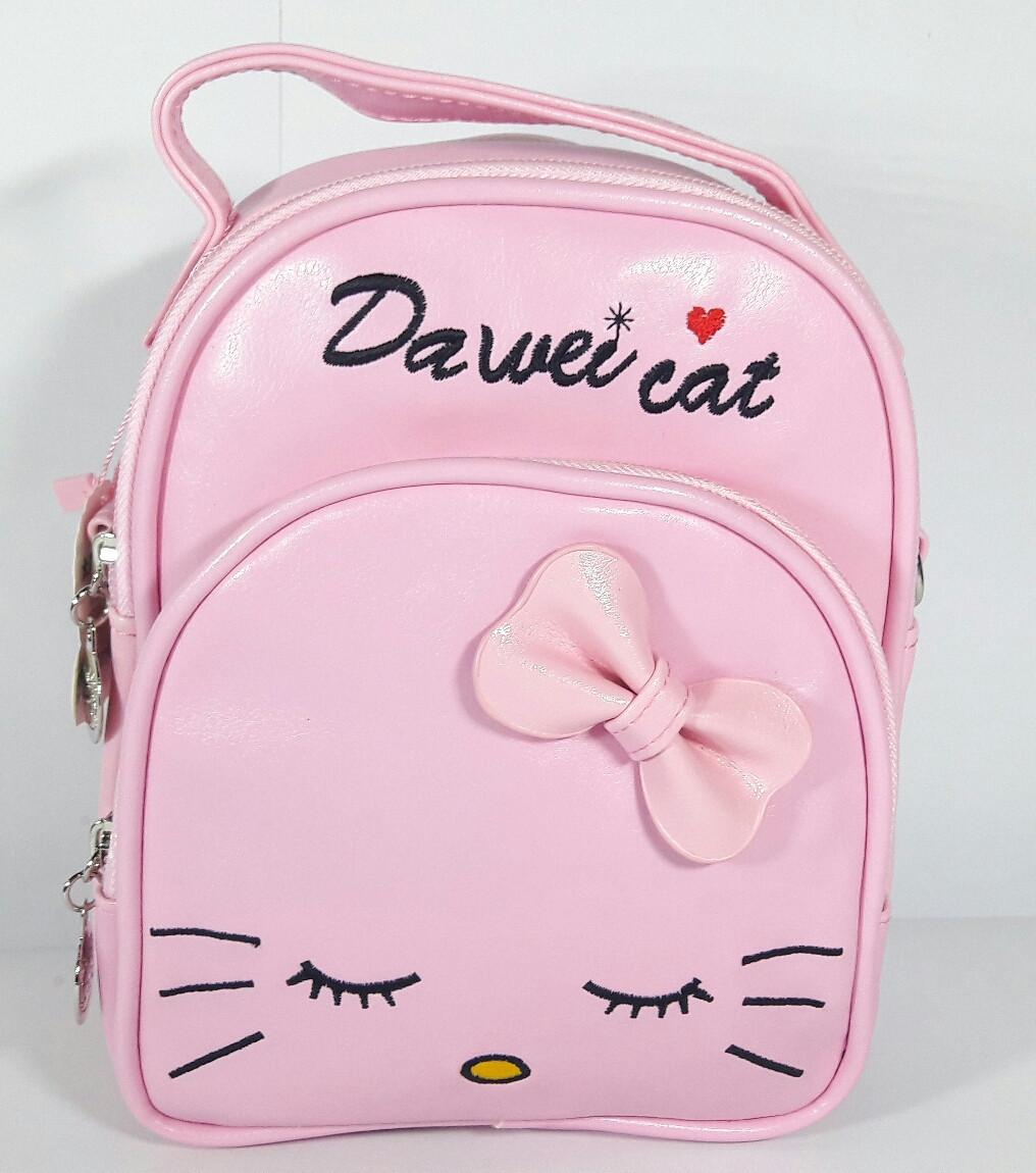 """Рюкзак-сумка детский """"Кошка""""для девочки"""