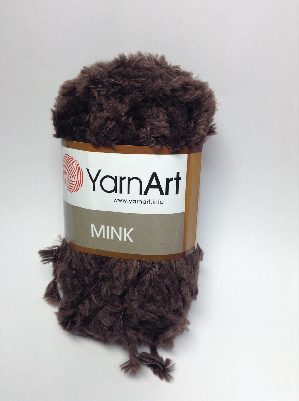 Пряжа mink YarnArt (плюшева)