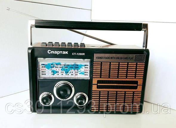 Радиоприёмник в Стиле РЕТРО (USB,MicroSD,Мр3), фото 2