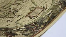 Большая, винтажная карта мира под старину. Карта на стену, фото 3