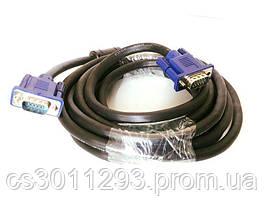 Шнур Кабель VGA - VGA 5м, фото 3