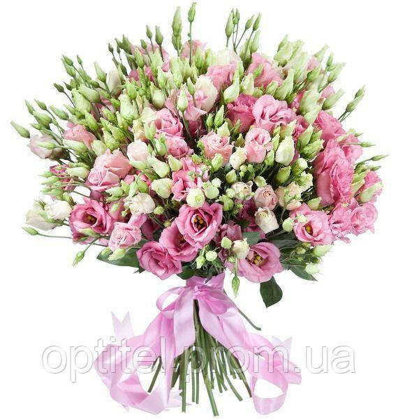 """Букет """"35 розовых эустом"""""""