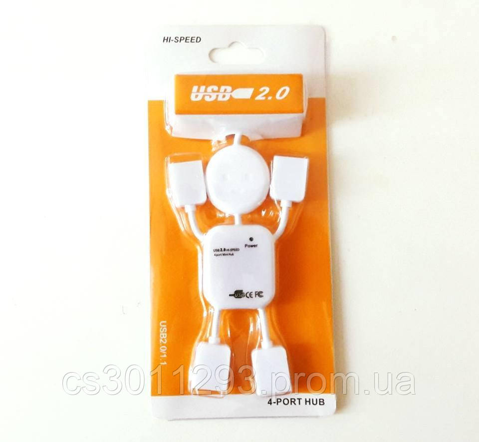USB Хаб Разветвитель на 4 порта