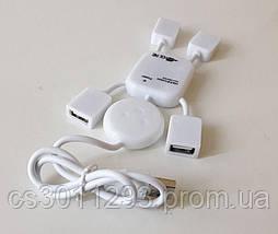 USB Хаб Разветвитель на 4 порта, фото 3