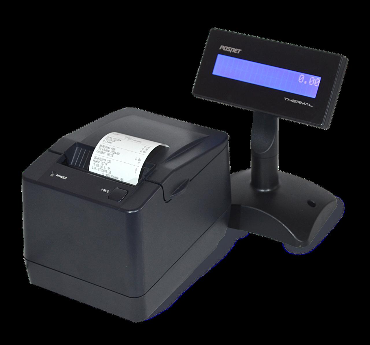 Фискальный регистратор MG T787TL (Фискальный регистратор+блок питания+дисплей покупателя)