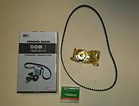 Комплект грм 1,5 Ланос,Авео ролик натяжной ремня  ГРМ DJENG.CO и ремень Gates (Южная Корея) TK33-53, фото 1