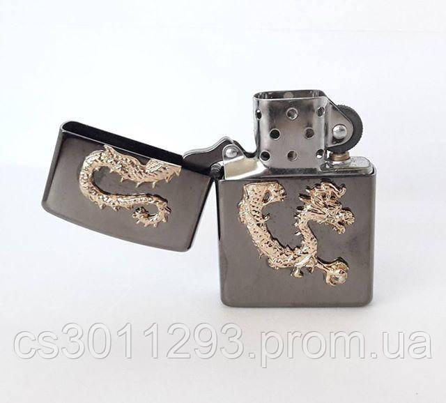 Зажигалка ZIPPO Бензиновая (Gold Dragon)