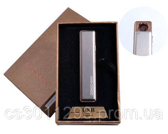 Электрическая USB Зажигалка с двухсторонним слайдером, Зажигалка-слайдер, фото 2