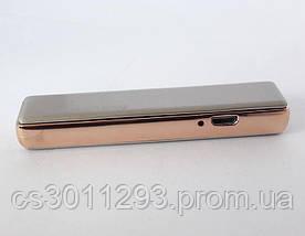 Электрическая USB Зажигалка с двухсторонним слайдером, Зажигалка-слайдер, фото 3